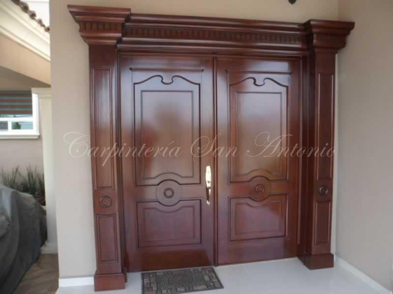 Carpinter a san antonio puertas en saltillo coahuila for Puertas de madera de ocasion