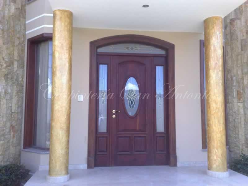 Carpinter a san antonio puertas en saltillo coahuila for Puertas de ingreso de madera